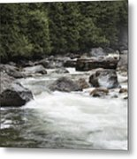 Below The Torrent   Metal Print
