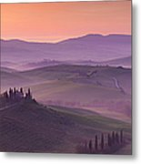 Belvedere And Tuscan Countryside Metal Print