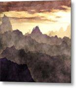 Belzoni Mountain Range Metal Print