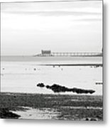 Bembridge Lifeboat Station From St Helens Metal Print