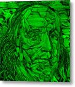 Ben In Wood Green Metal Print