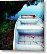 Rusted Boat Metal Print