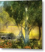 Bench - I Had This Dream And It All Began Metal Print