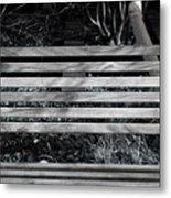 Bench Theory Metal Print