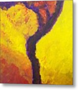 Bendy Tree Metal Print