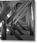 Beneath The Docks Day Metal Print