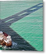 Beneath The Golden Gate Metal Print