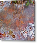 Beneath The Ice Metal Print