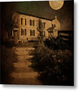 Beneath The Perigree Moon Metal Print