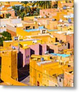 Beni Isguen Houses From The Watch Tower Metal Print