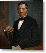 Benito Juarez (1806-1872) Metal Print by Granger