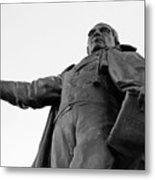 Benito Juarez Statue Metal Print