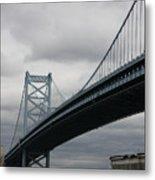 Benjamin Franklin Bridge Philadelphia Metal Print