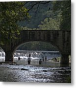 Bennett Springs Bridge Metal Print