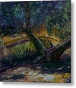 Bent Tree Metal Print