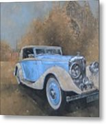 Bentley By Kellner Metal Print