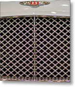 Bentley Grille And Insignia Metal Print