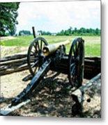 Bentonville Nc Confederate Artillery Metal Print