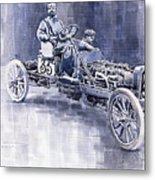 Benz 60hp Targa Florio Rennwagen 1907 Metal Print
