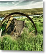Bereft On The Grasslands T Metal Print