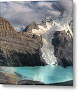 Berg Lake, Mount Robson Provincial Park Metal Print