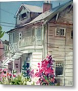 Berkeley House Metal Print
