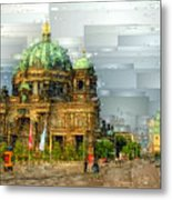 Berlin Cathedral Metal Print