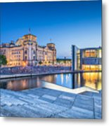 Berlin Government District Metal Print