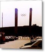 Berlin Olympic Stadium  Metal Print