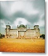 Berlin Reichstag Building Metal Print