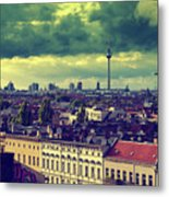 Berlin Roofscape Metal Print