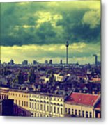 Berlin Skyline And Roofscape Metal Print