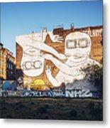 Berlin - Street Art Metal Print