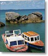 Bermuda Boats Metal Print