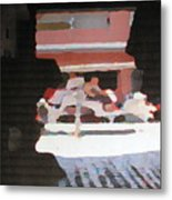 Bermuda Carriage Impressions Metal Print
