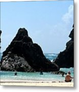 Bermuda Day At The Beach Metal Print