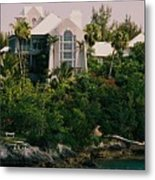 Bermuda Mansion Vision # 4 Metal Print