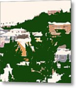 Bermuda Neighborhood Metal Print