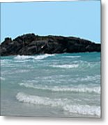 Bermuda South Shore Beach Metal Print