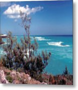 Bermuda Summer Shore Metal Print