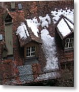 Berne Rooftops II Metal Print