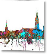 Berne Switzerland Skyline Metal Print