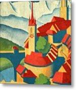 Berne Switzerland - Vintagelized Metal Print