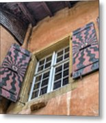 Bernese Windows Metal Print