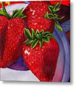 Berry Berry Berry Good Metal Print