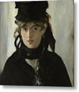 Berthe Morisot With A Bouquet Of Violets Metal Print
