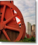 Bessemer Converter - Steel City - Pittsburgh Metal Print