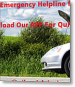 Best And Affordable Car Services Company. Metal Print