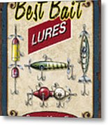 Best Bait Lures Metal Print