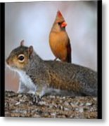 Best Buds Metal Print